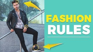 7 MEN'S FASHION RULES Every Guy Should Follow (For Beginners) | Alex Costa
