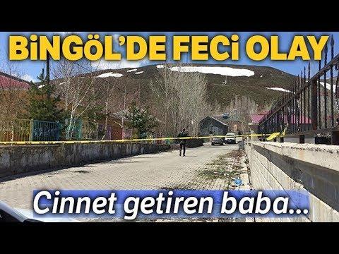Bingöl'de Cinnet! Eşi ve 3 Çocuğunu Vurdu
