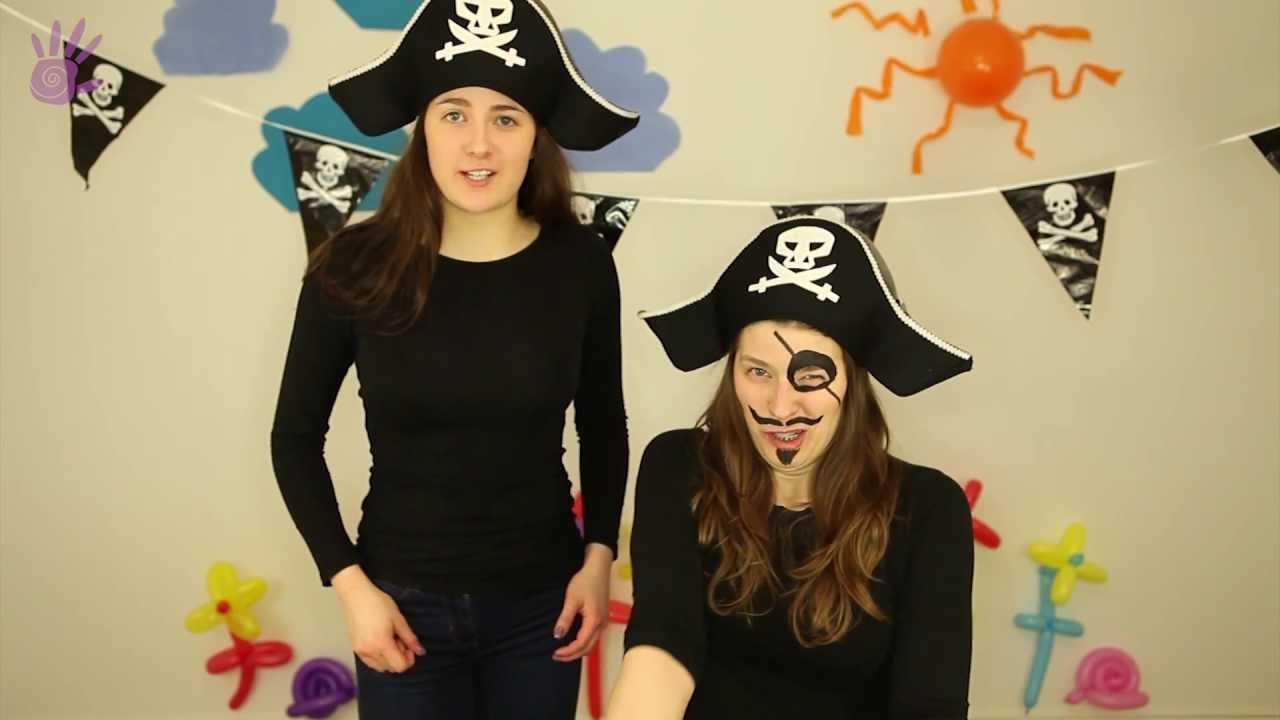 Malowanie Buziek Malowanie Twarzy 3 Piratka Youtube
