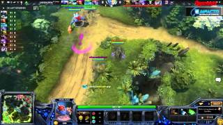 DOTA 2 : Unknown vs Digital Chaos (Game 2 - FINAL ) (Major 2015 Americas Qualifier) - Cast Mr.Choco