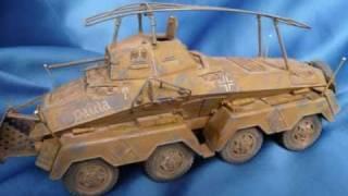 Tamiya Sd.Kfz. 232 Schwerer Panzerspähwagen 8-Rad in 1/35 scale