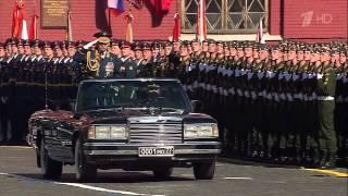 Москва. Репетиция парада Победы 7 мая 2015 г.