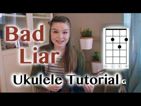 Bad Liar Ukulele Tutorial ONLY 2 chords! | Lindsey's Uke