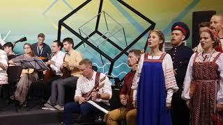 Смотреть видео Национальный оркестр Таврида и хор - Мать Россия онлайн