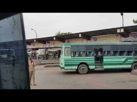 Villupuram Bus stand - YouTube