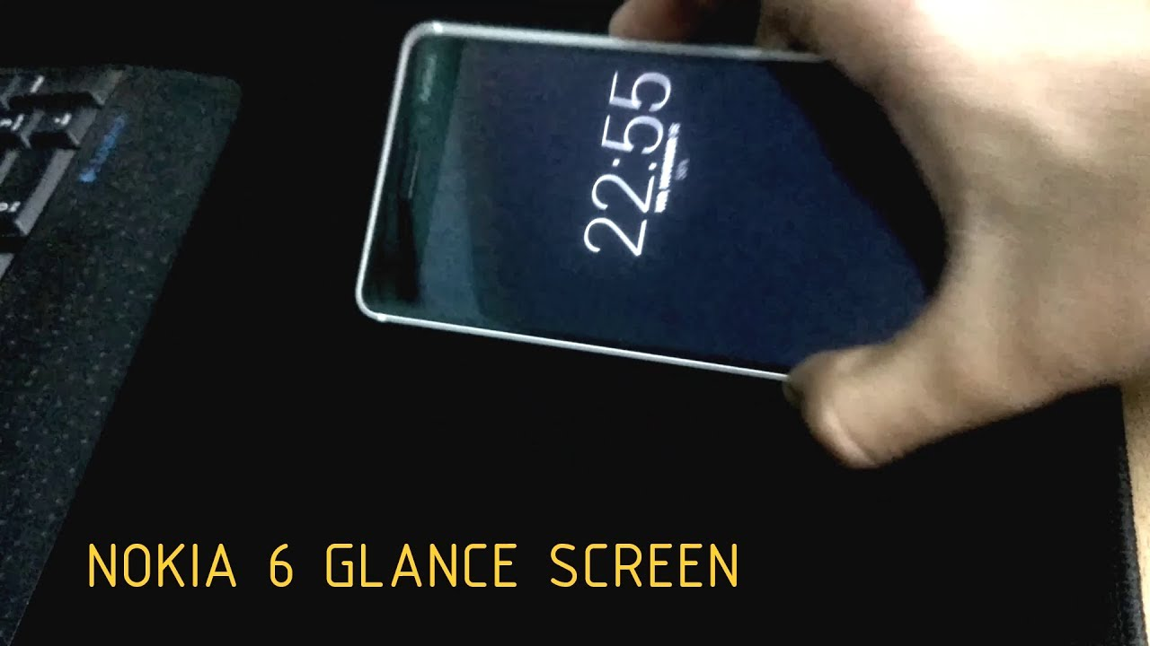 HOW TO GET GLANCE SCREEN ON NOKIA 6 (OR ANY ANDROID DEVICE) WITHOUT ROOT !