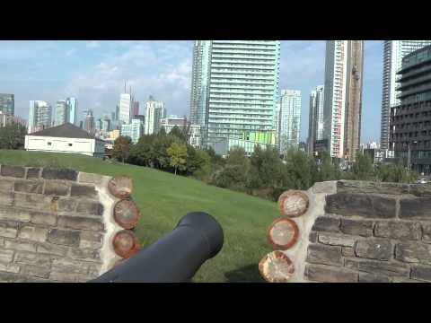 The opening Of The Fort York Visitor Centre (and a look at historic Fort York)