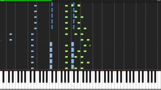 [HD] E.  S.  Posthumus - Unstoppable (Free Piano Cover Synthesia + Sheet Music)