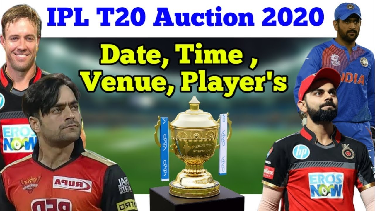 Fair Play Award 2020 Ipl.Ipl Auction 2020 Confirm Date Time Venues Players Cricket 4 Asia
