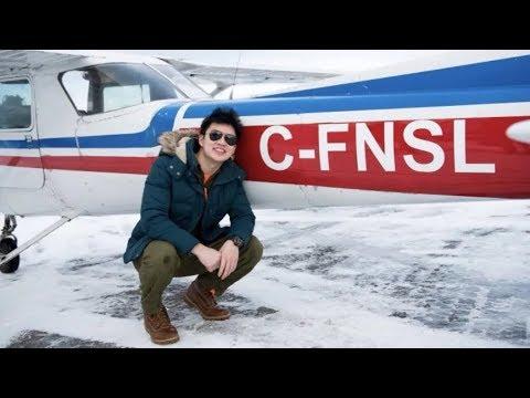 Gander's wild weather draws flight students from around the world