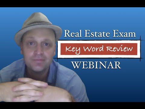 Rey's Keyword Real Estate Exam Crash Review