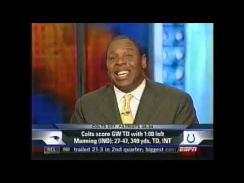 NFL Primetime: 2006 Championship Sunday (Indy And Chicago To Super Bowl, ESPN 1/21/2007)