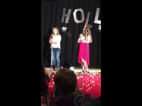 Sissy singing See you Again at the talent show