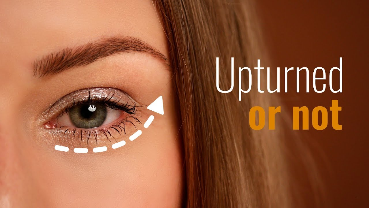 How To Recognize Upturned Eyes Youtube