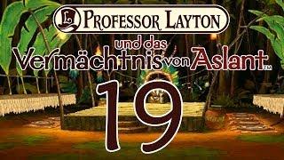 Professor Layton und das Vermächtnis von Aslant Part 19: Hallimasch der Emotionslose!