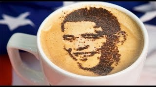 Как научиться рисовать на кофе? Латте-арт. Вытворяшки(Что может согреть лучше осенним днем, чем вкусный горячий кофе! Как сделать его еще и красивым? Вытворяшки..., 2015-09-02T02:30:00.000Z)