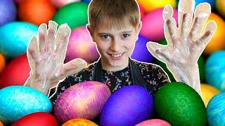 Как покрасить яйца на Пасху | 4 крутых способа покрасить пасхальные яйца своими руками