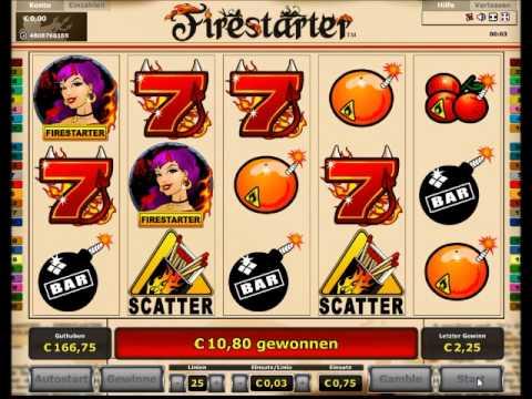 Firestarter Slot  Freispiele mit Verlängerung - 122-facher Gewinn