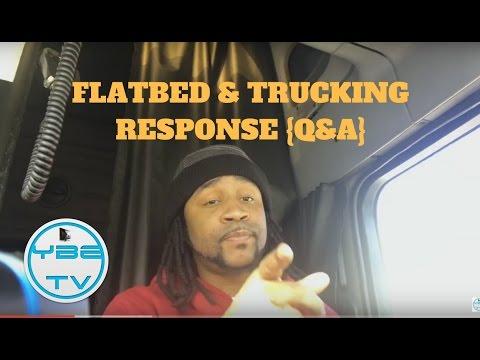 TRUCKING HEAVY HAULING & FLATBED EQUIPMENT {Q&A} YBETV