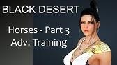 Black Desert - HOW TO - Horse Skills & MiniGame - YouTube