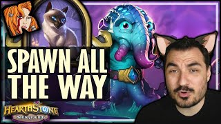 SPAWN OF N'ZOTH ALL THE WAY?! - Hearthstone Battlegrounds