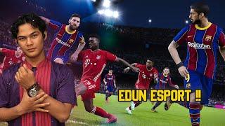 EDUN E SPORT IS BACKK   MABAR PES MOBILE BARENG MEMBER !!