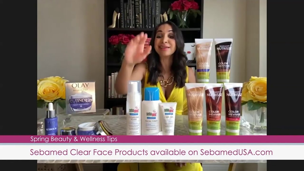 Sebamed Clear Face on WJLA News Channel 8's Let's Talk Live - Washington, DC with Charis Hanner