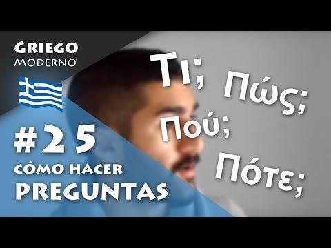 Curso A1 de GRIEGO MODERNO: #1 El alfabeto griego from YouTube · Duration:  7 minutes 59 seconds