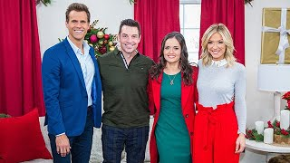 Danica McKellar and Brennan Elliott Visit - Home & Family