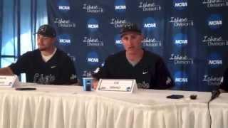Mercyhurst Baseball Press Conference vs Truman State