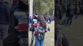 Las colas de espera de La Voz Argentina en Córdoba