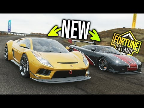 NEW Saleen S5S Raptor VS Koenigsegg CC8s DLC & Customization! | Forza Horizon 4 thumbnail