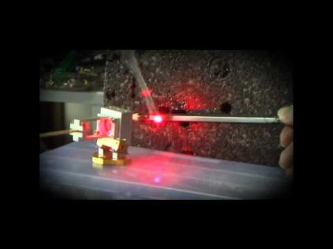40 Watts FAP Solid State Complete Laser System Short Video