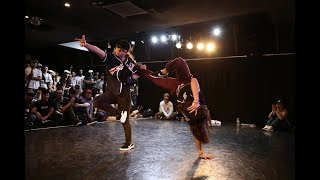 SPARKY JEWEL vs eins_BOTY B-GIRL 2vs2 BATTLE JAPAN_FINAL_2017.8.11