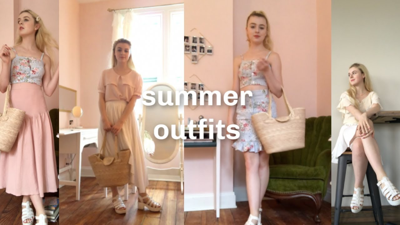 4 Summer Outfits // ootw