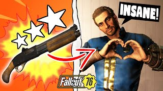 So I GAVE Random Fallout 76 Players Some of the Best Legendary Weapons & Here's How They Reacted..