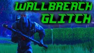 *NEW* WALLBREACH GLITCH in FORTNITE BATTLE ROYALE! HOW TO WALLBREACH GLITCH in FORTNITE!