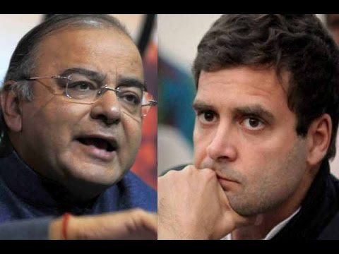 Arun Jaitley Reacts On Rahul Gandhi's 'Khoon Ki Dalali' Comment | Exclusive