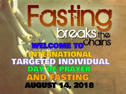CLOSING PRAYER AND DECLARATION OF VICTORY FOR INTERNATIONAL TI DAY OF PRAYER AND FASTING