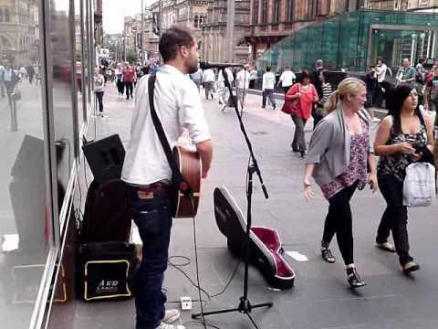 Mike Rosenberg/Passenger Live in Buchanan Street Glasgow
