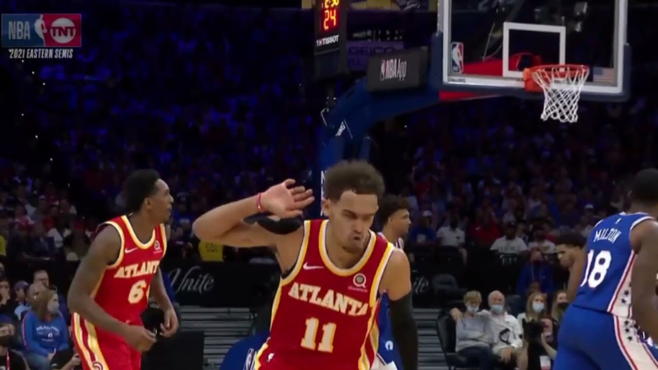 Trae Young leads Atlanta Hawks from a 26pt deficit comeback win against the 76ers || 714TV ||