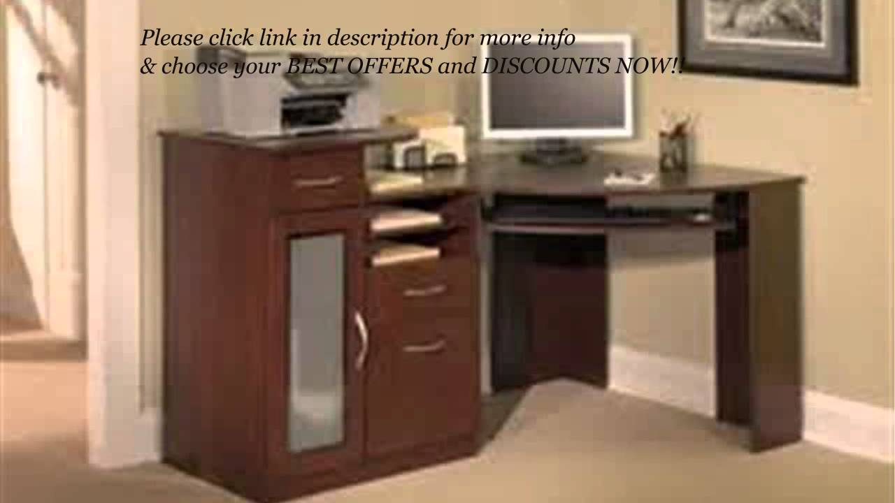 Bush Furniture Vantage Corner Desk REVIEW! | BUSH FURNITURE Vantage  Collection Corner Desk?   YouTube