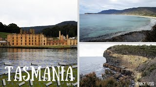 Tasmania Day 1: Port Arthur, Tessellated Pavement, Devil's Kitchen and Tasman's Arch