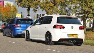 400HP VW Golf R (mk6) - LOUD Accelerations!