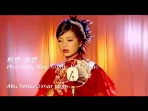 [Indo sub] HAO XIANG HAO XIANG 好想好想 lyric with Hanyu pinyin