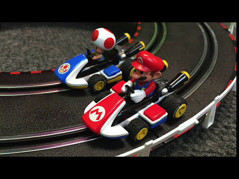 CARRERA MARIO KART 8 ( INFINITY) Slot Car Racing Set – Nintendo