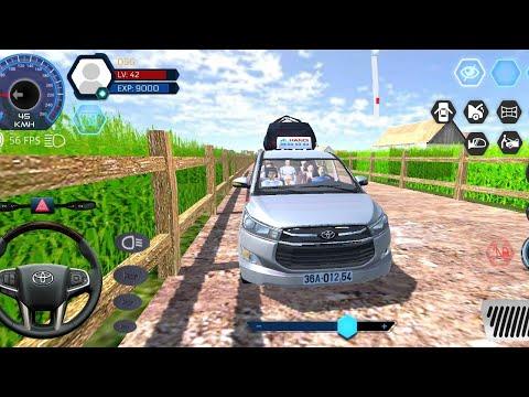 Car Simulator Vietnam - Toyota Innova Village Tour🤩#2 Realistic Android Gameplay - Driving Simulator