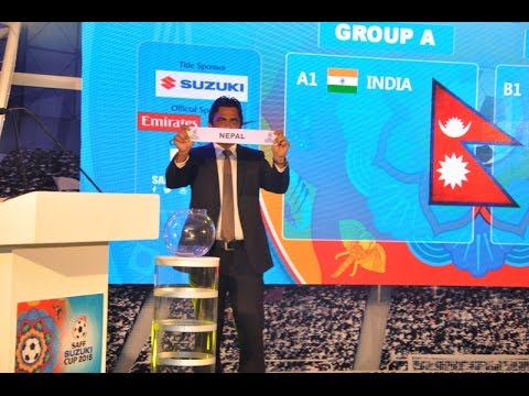 Official Draw of the SAFF Suzuki Cup 2015