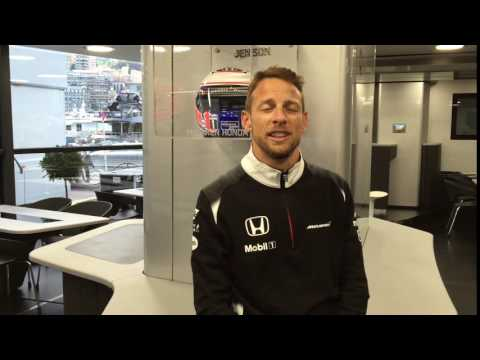 Jenson Button's Good Luck Message #Tri4Oscar