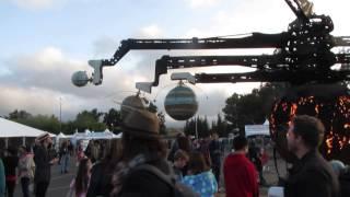 Huge Solar System Model (Maker Faire 2015)